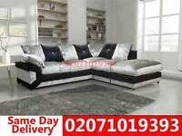 Dimo Crushed Velvet Corner Sofa--Order Now!