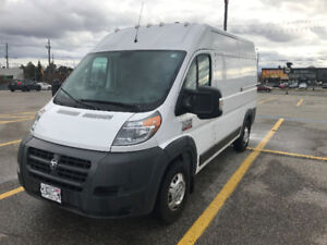 2016 Dodge ProMaster 2500 with high roof, tow package for sale