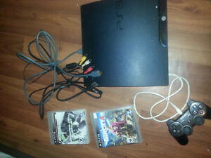 PS3 SLIM 160 GB 80$