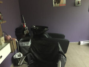 Space for nail technician, hairdresser inside spa