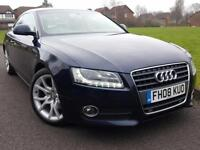 Audi A5 2.7TD ( 190ps ) Multitronic Sport + HEATED LEATHER + DIESEL + AUTO