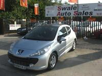 2008 PEUGEOT 207 CIELO VTi 1.4L ONLY 78,833 MILES, SERVICE HISTORY