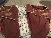 Swaddle me blanket.  All 5 for $20
