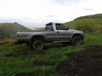 Toyota Hilux very low mileage!