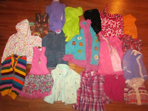 girls size 6 lot of clothes