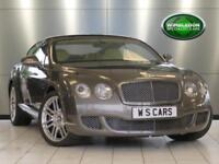 "2010 BENTLEY CONTINENTAL 6.0 GT / 20"" ALLOYS / BURR WALNUT TRIM / SATELLITE NAVI"