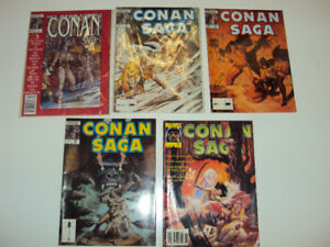 Conan Saga Comics, 5 for $15