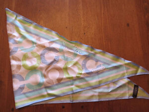 Authentic COACH Silk Scarf