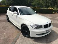 BMW 1 SERIES 116i SPORT 2.0 5 DOOR HATCHBACK IN WHITE