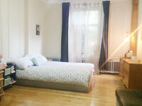 Big room to rent in august Mile-end - chambre à louer aout