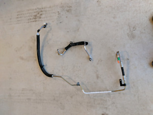 Ford focus power steering lines and struts