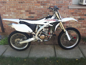 2010 Yamaha YZ250F Limited Edition w OWNERSHIP Low Hours