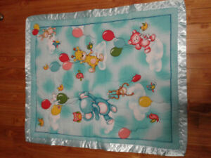 Home made baby boy quilt