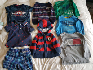 18 month Tommy Hilfiger boy's clothing lot