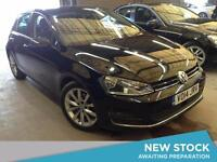 2014 VOLKSWAGEN GOLF 2.0 TDI GT 5dr DSG Auto With Paddle Shift