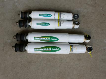 Landcruiser 100 Series Ironman Foam Cell Shocks IFS Caloundra Caloundra Area Preview