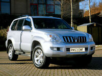 2004 53 Toyota Land Cruiser 3.0 D-4D LC3 AUTO 5dr GENUINE EXAMPLE