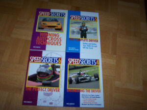 4 SPEED SECRETS softcover books by ROSS BENTLEY