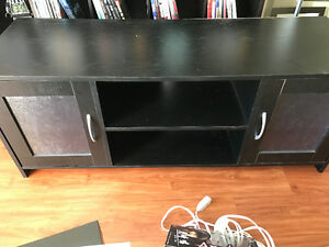 Black tv stand - NEED GONE ASAP