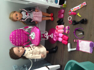 Generation dolls, accessories, and loft suite and hair dresser s