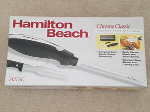 ELECTRIC KNIFE SET WITH CASE - BRAND NEW/NEVER USED!!!