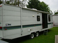 31' Terry Trailer with pull-out