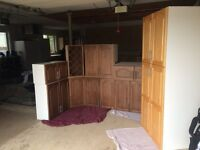 Upper custom cabinets - For Sale