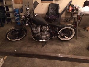 Xs 1100 bobber custom built