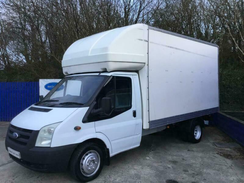 dd5010dec0 2006 56 Ford Transit 2.4TDCi ( 115PS ) ( DRW ) 350 LWB Luton Box ...