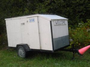 Enclosed -ATV OR Mini Camper-metal frame solid