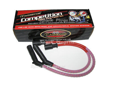Magnecor 8.5mm Red SIlicone HT Lead Set for Aprilia RSV 1000R