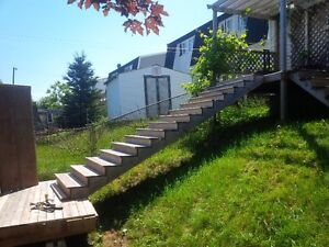 Pre-Fab Deck stairs, can be cut to spec, MAKE AN OFFER!!!!