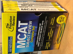 MCAT study books for students interested in medicine
