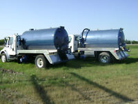 septic vac truck / honeywagon / sewer truck