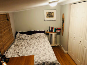Sunny bright bdrm in a house near Christie incl. AUG 1 $900