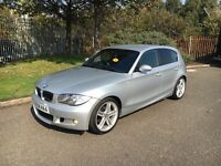 2008 BMW 1-Series 120i M-Sport 180BHP✅Low miles✅Start/Stop✅PX WELCOME