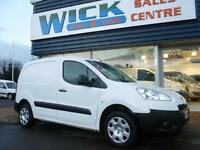 2014 Peugeot PARTNER HDI PROFESSIONAL L1 850 Van *NO VAT* Manual Small Van