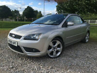 2008 Ford Focus CC 2.0TD (134bhp) CC Manual Convertible Diesel in Silver
