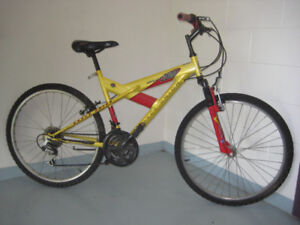 26'' bike ROYCE UNION with 24 speed and Front Suspension