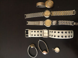 Women's Watches 7 altogether