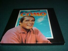 THE INCOMPARABLE PERRY COMO-12.INCH VINYL LP'S BOX SET.-EX