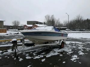 $2400 BoatEngineTrailer Perfect. Ready to go.