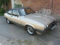 1982 Ford Capri 2.0 ghia 67612 miles mot july 2017 rare manual ghia shrewsbury