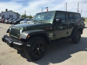 2007 JEEP WRANGLER UNLIMITED X *4WD * POWER GROUP * MINT CONDITI London Ontario image 2