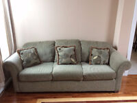 Green Couch and Chair! New and Great Condition