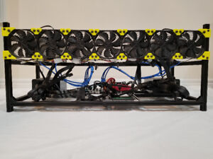 CRYPTOCURRENCY 6 x 1070ti GPU Mining Rig-With Intro and Startup