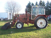 611 Belaris Tractor With Cab And Front End Loader