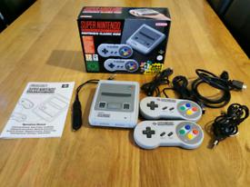 Nintendo SNES mini classic with 7700 games