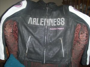 Motorcycle Jacket (Leather) Ladies M