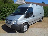 2014 14 FORD TRANSIT 2.2TDCI 125BHP T350 TREND LWB MID ROOF EURO 5 1 OWNER